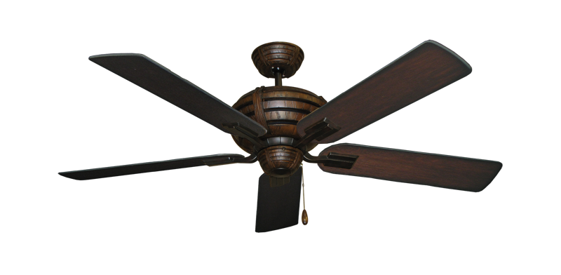 """Picture of Madeira Oil Rubbed Bronze with 52"""" Distressed Cherry Blades"""