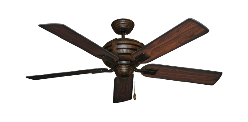 """Picture of Madeira Oil Rubbed Bronze with 52"""" Burnt Cherry Blades"""