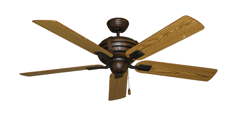 """Picture of Madeira Oil Rubbed Bronze with 56"""" Oak Blades"""