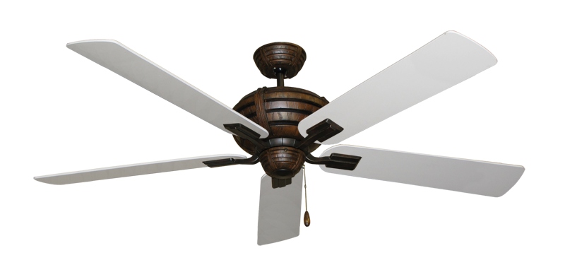 "Picture of Madeira Oil Rubbed Bronze with 60"" Pure White Blades"
