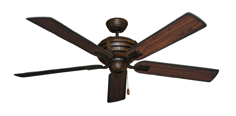 "Picture of Madeira Oil Rubbed Bronze with 60"" Burnt Cherry Blades"