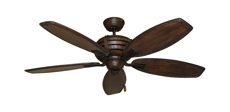 """Picture of Madeira Oil Rubbed Bronze with 52"""" Series 550 Arbor Dark Walnut Blades"""