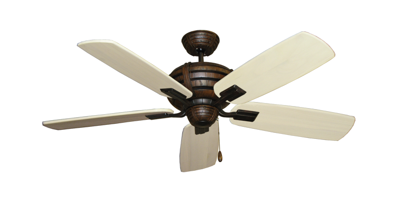 """Picture of Madeira Oil Rubbed Bronze with 52"""" Series 710 Arbor Whitewash Blades"""