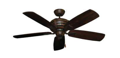 "Picture of Madeira Oil Rubbed Bronze with 52"" Series 710 Arbor Cherrywood Blades"
