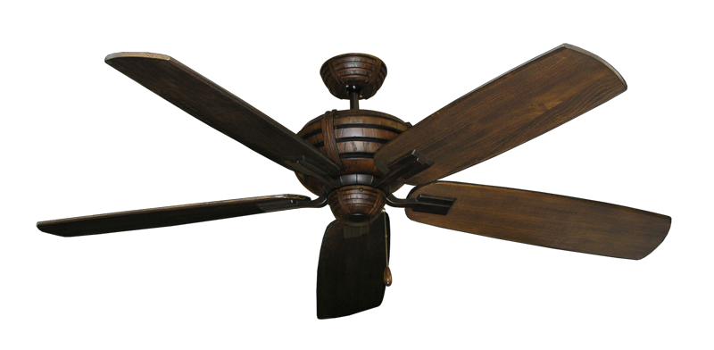 "Picture of Madeira Oil Rubbed Bronze with 60"" Series 725 Arbor Dark Walnut Blades"