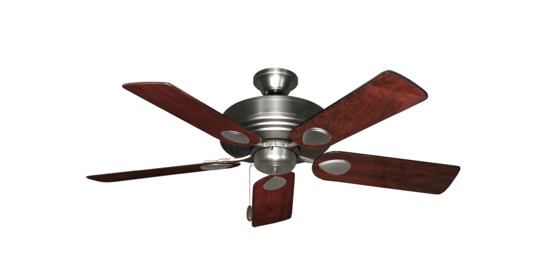 """Picture of Futura Satin Steel with 44"""" Cherrywood Gloss Blades"""