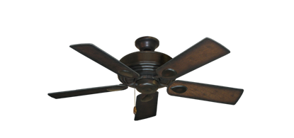 """Picture of Futura Oil Rubbed Bronze with 44"""" Distressed Hickory Blades"""