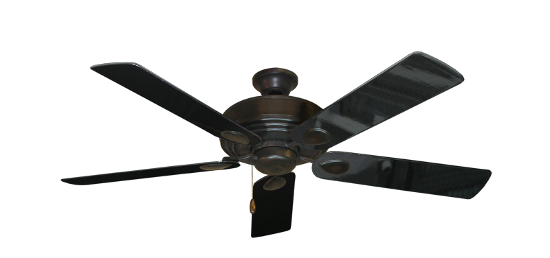 "Picture of Futura Oil Rubbed Bronze with 52"" Black Gloss Blades"