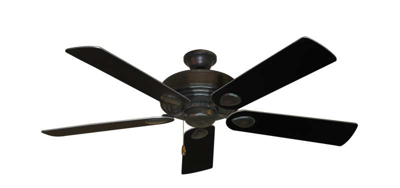 "Picture of Futura Oil Rubbed Bronze with 52"" Black Blades"