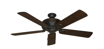 """Picture of Futura Oil Rubbed Bronze with 52"""" Distressed Hickory Blades"""