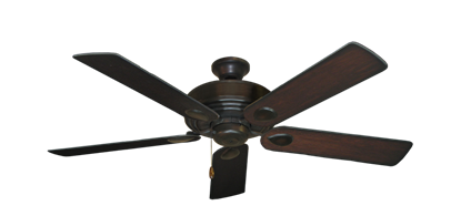 """Picture of Futura Oil Rubbed Bronze with 52"""" Distressed Cherry Blades"""