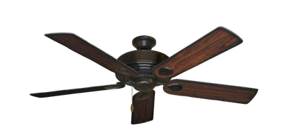"""Picture of Futura Oil Rubbed Bronze with 52"""" Burnt Cherry Blades"""