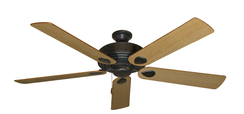 """Picture of Futura Oil Rubbed Bronze with 60"""" Maple Blades"""