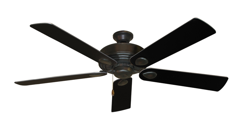 "Picture of Futura Oil Rubbed Bronze with 60"" Black Blades"