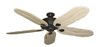 """Picture of Futura Oil Rubbed Bronze with 58"""" Series 500 Arbor Whitewash Blades"""