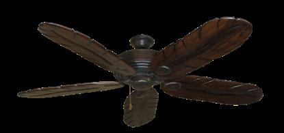"Picture of Futura Oil Rubbed Bronze with 58"" Series 500 Arbor Dark Walnut Blades"