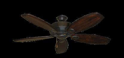 "Picture of Futura Oil Rubbed Bronze with 52"" Series 550 Arbor Dark Walnut Blades"