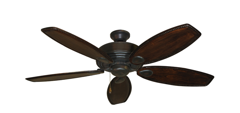 """Picture of Futura Oil Rubbed Bronze with 52"""" Series 550 Arbor Whitewash Blades"""
