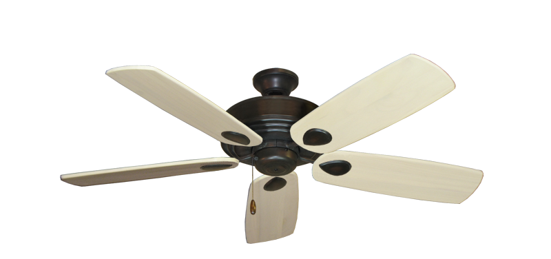 "Picture of Futura Oil Rubbed Bronze with 52"" Series 710 Arbor Whitewash Blades"