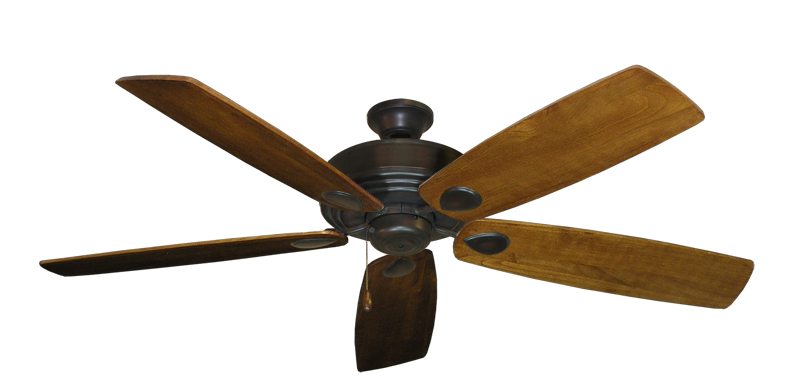 "Picture of Futura Oil Rubbed Bronze with 60"" Series 725 Arbor Oak Blades"