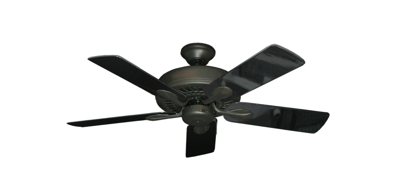 "Picture of Meridian Oil Rubbed Bronze with 44"" Black Gloss Blades"