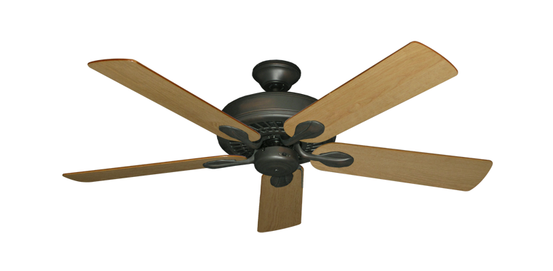 """Picture of Meridian Oil Rubbed Bronze with 52"""" Maple Blades"""