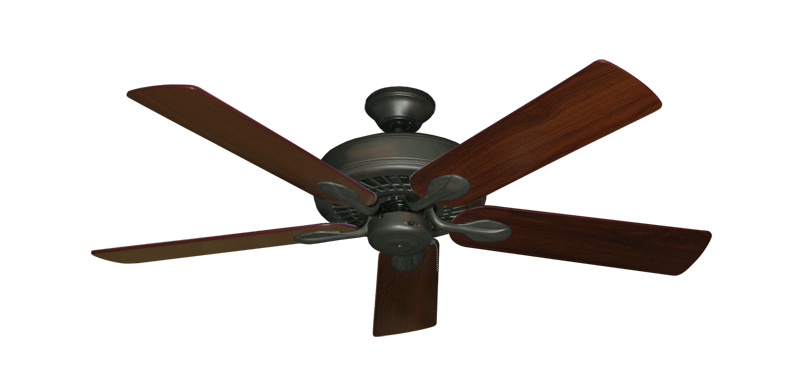 "Picture of Meridian Oil Rubbed Bronze with 52"" Walnut Blades"