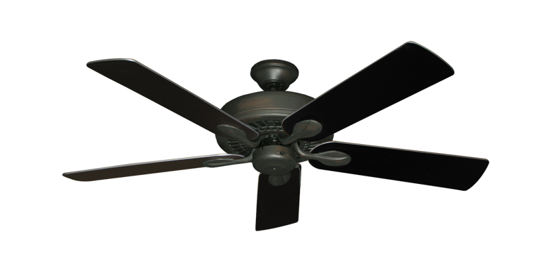 "Picture of Meridian Oil Rubbed Bronze with 52"" Black Blades"