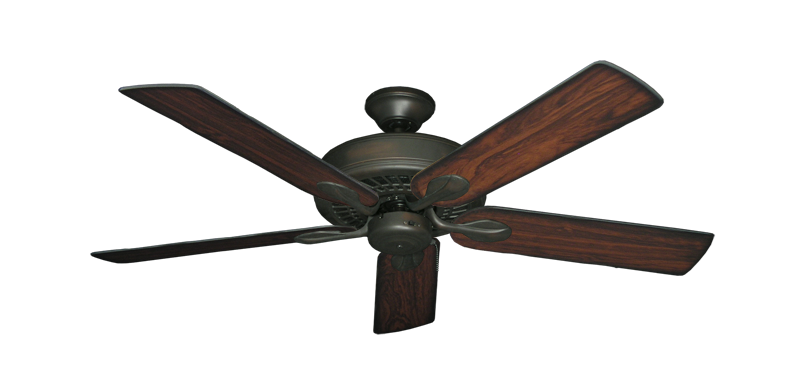 """Picture of Meridian Oil Rubbed Bronze with 52"""" Burnt Cherry Blades"""