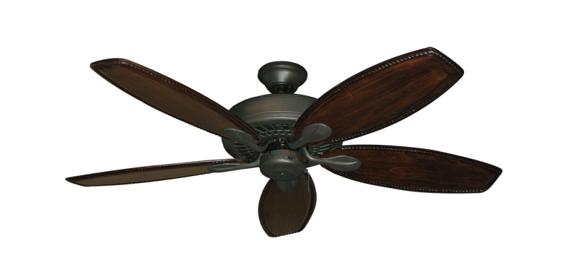 """Picture of Meridian Oil Rubbed Bronze with 52"""" Series 550 Arbor Dark Walnut Blades"""