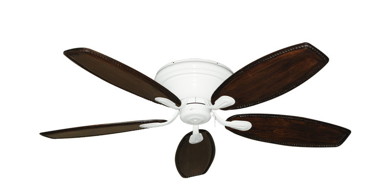 """Picture of Stratus Pure White with 52"""" Series 550 Arbor Whitewash Blades"""