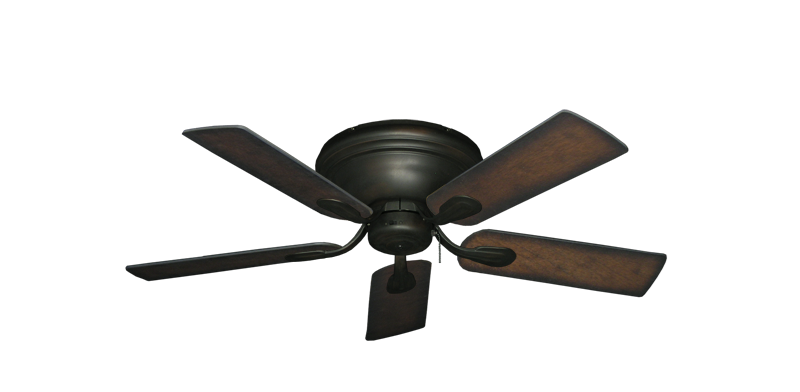 "Picture of Stratus Oil Rubbed Bronze with 44"" Distressed Hickory Blades"