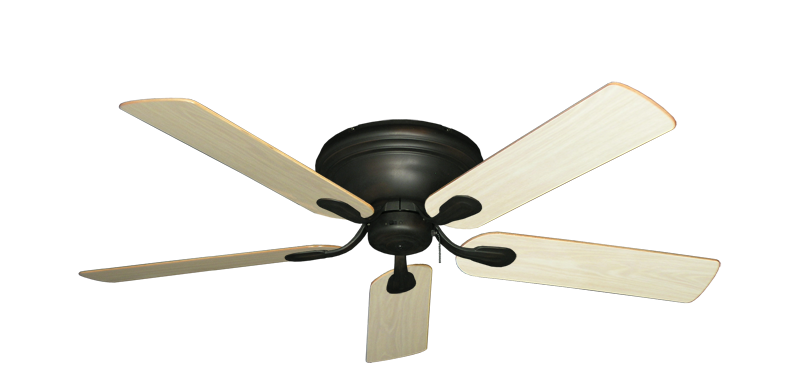 "Picture of Stratus Oil Rubbed Bronze with 52"" Unfinished Oak Blades"