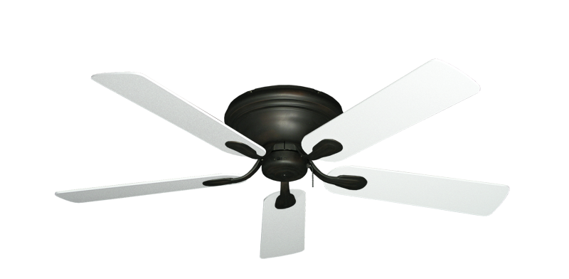 "Picture of Stratus Oil Rubbed Bronze with 52"" Textured White Blades"