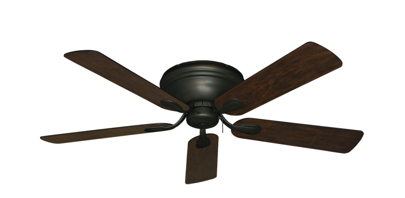 "Picture of Stratus Oil Rubbed Bronze with 52"" Distressed Hickory Blades"