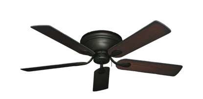 "Picture of Stratus Oil Rubbed Bronze with 52"" Distressed Cherry Blades"