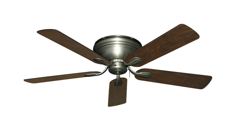 "Picture of Stratus Satin Steel with 52"" Distressed Walnut Blades"