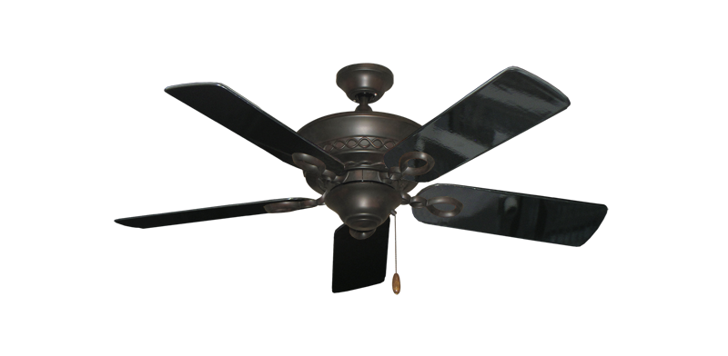 """Picture of Infinity Oil Rubbed Bronze with 44"""" Black Gloss Blades"""