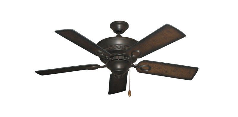 """Picture of Infinity Oil Rubbed Bronze with 44"""" Distressed Hickory Blades"""