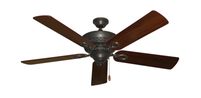 """Picture of Infinity Oil Rubbed Bronze with 52"""" Walnut Blades"""