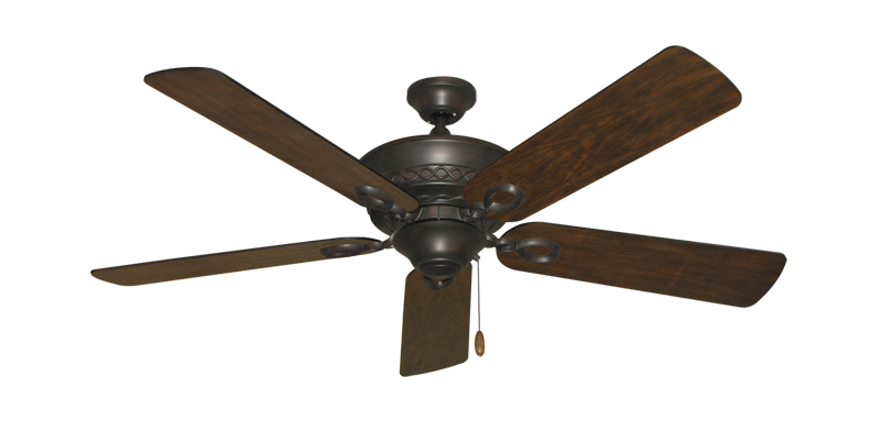 "Picture of Infinity Oil Rubbed Bronze with 52"" Distressed Walnut Blades"