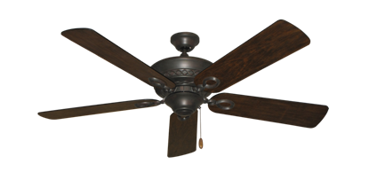 """Infinity Oil Rubbed Bronze with 52"""" Distressed Hickory Blades"""