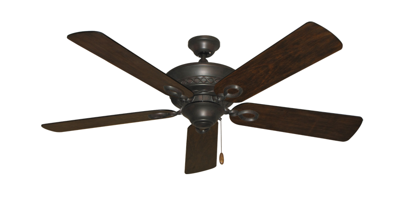 """Picture of Infinity Oil Rubbed Bronze with 52"""" Distressed Hickory Blades"""