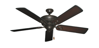 "Picture of Infinity Oil Rubbed Bronze with 52"" Distressed Cherry Blades"