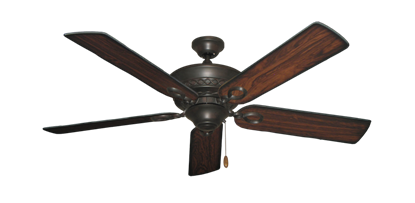 "Picture of Infinity Oil Rubbed Bronze with 52"" Burnt Cherry Blades"