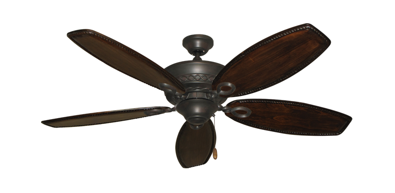 "Picture of Infinity Oil Rubbed Bronze with 52"" Series 550 Arbor Dark Walnut Blades"