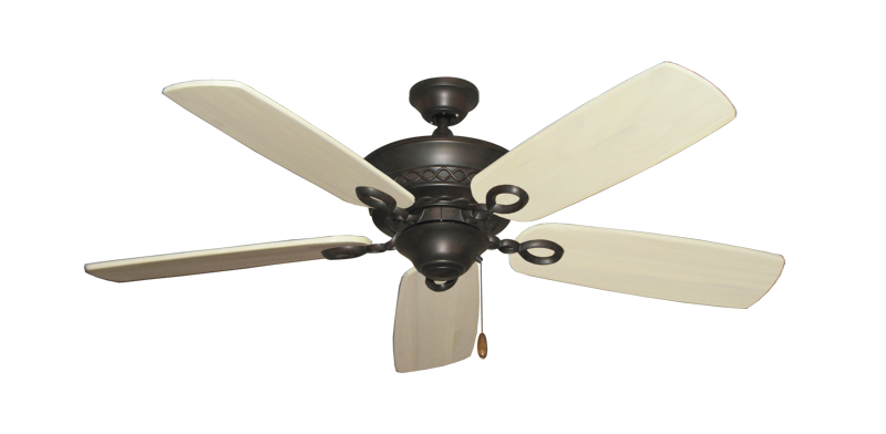 "Picture of Infinity Oil Rubbed Bronze with 52"" Series 710 Arbor Whitewash Blades"