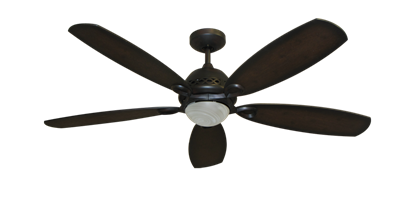 """52"""" Ramsey Ceiling Fan in Oil Rubbed Bronze with Remote Control"""