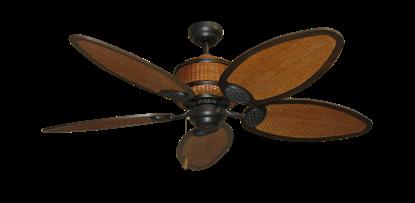 """52"""" Cane Isle Ceiling Fan in Oil Rubbed Bronze"""
