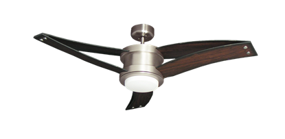 Picture of Triton II 52 in. Satin Steel Ceiling Fan